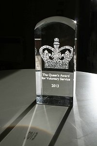 queens award trophy